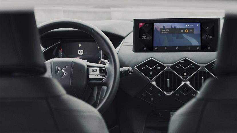 Mirror Screen - Connected Services | DS Automobiles