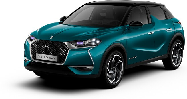 DS 3 CROSSBACK EXTERIOR IN BLUE