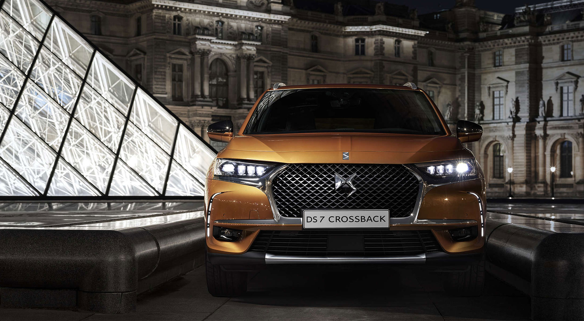 SUV DS 7 CROSSBACK - Frontansicht
