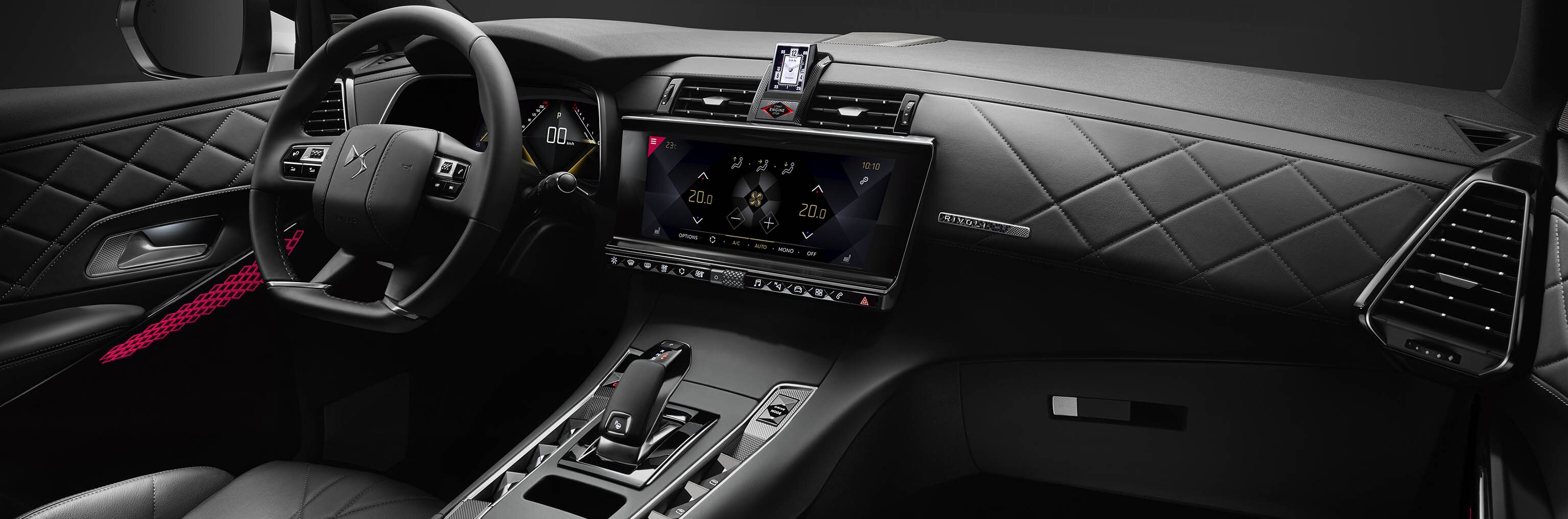 DS 7 Crossback Diseño interior