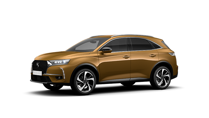 DS 7 CROSSBACK EXTERIOR IN GOLD